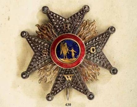 Order of the Four Emperors, Commander Breast Star