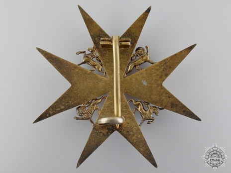 Knight/ Dame of Grace Breast Star (II Class) (with silver-gilt) Reverse