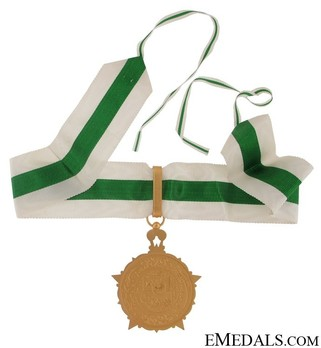 Order of Civil Merit (Wisam al-Satahaqaq al-Sun), I Class Grand Cordon Obverse