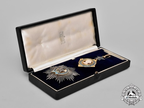 Grand Cross Breast Star Set in Case of Issue