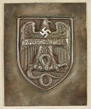 Warsaw Shield Obverse