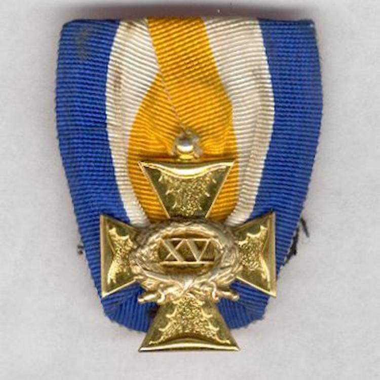 Cross for 15 years obverse 1