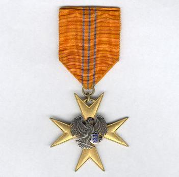 Order of the Eagle Cross, Gold Cross Obverse