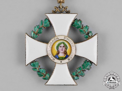 Order of Saint Agatha, Grand Officer Obverse