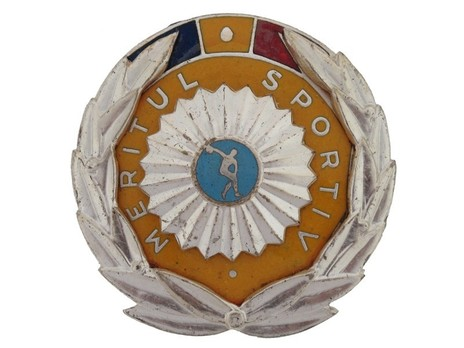 Order of Sport Merit, II Class Breast Star Obverse