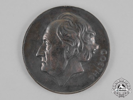 Goethe Medal for Art and Science (2nd pattern) Reverse