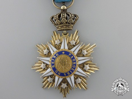 Knight (Silver gilt and gold by J. A. Da Costa) Obverse