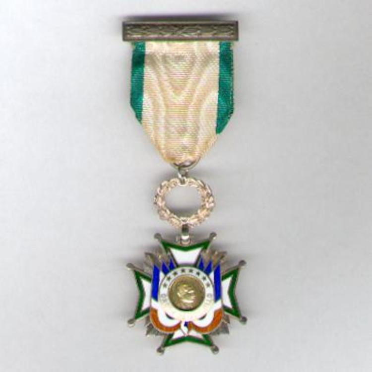 Enamelled and silver gilt knights cross obv