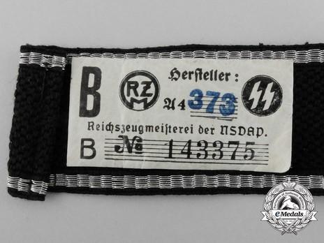 Allgemeine SS 6th Standarte Cuff Title Reverse
