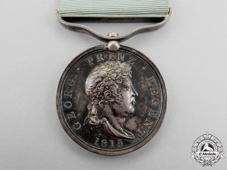 Guelphic Medal for War Merit in Silver Obverse