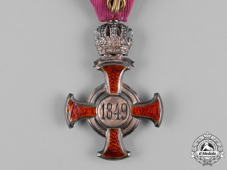Type III, Civil Division, III Class Cross (with crown) Reverse