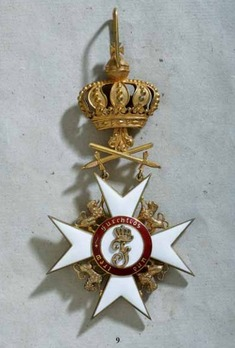 Order of the Württemberg Crown, Military Division, I Class Commander (with swords, 1870-1918)