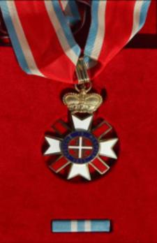 Order of Stretenjski, II Class Obverse