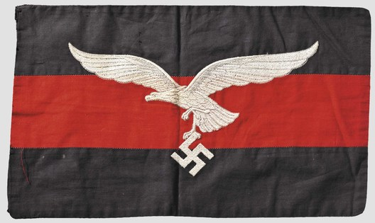 Luftwaffe Regiment Control Flag (Flakregiment version; Cloth) Obverse