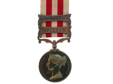 Silver Medal (with 2 clasps) Obverse