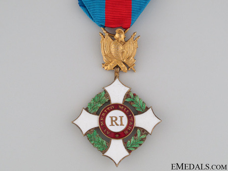 Military Order of Italy, Officer's Cross Obverse