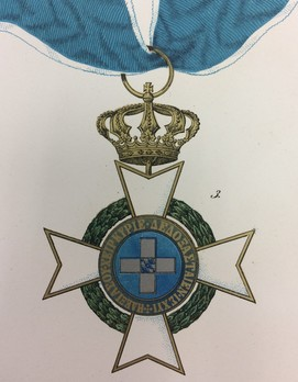 Order of the Redeemer, Type I, Grand Commander Obverse