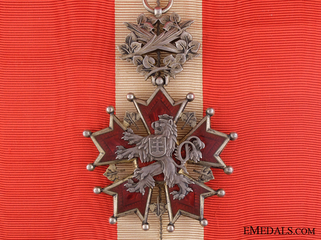 Order of the White Lion, Civil Division, I Class Obverse