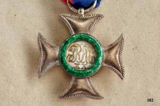 Civil Honour Cross, Senior Line, II Class Silver Cross (1885-1918)
