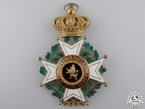 Grand Cross (Civil Division, 1951-) (by P. De Greef) Obverse