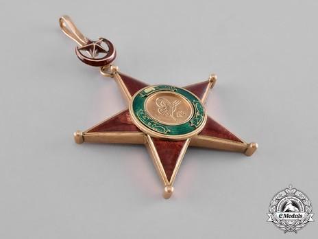 Order of Nishani-Shefkat, I Class Obverse