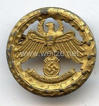 Tyrolean Marksmanship Gau Master Shooting Badge, Type IV (small version) Obverse