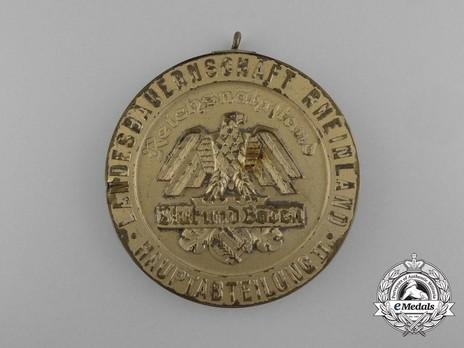 State Farmers' Group Rhineland Badges, Merit Badge for Horse Breeding Obverse