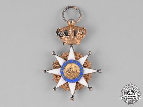 Royal Order of Holland, Commander Reverse