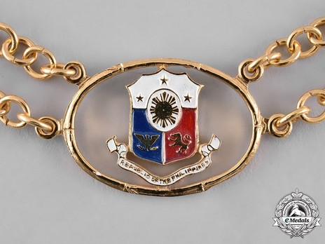 Order of the Golden Heart, Grand Collar Obverse Detail