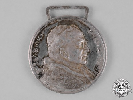 Bene Merenti Medal, Type VII, Silver Medal (in silver) Obverse