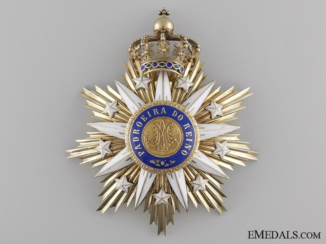 Grand Cross Breast Star (Silver gilt and gold) Obverse