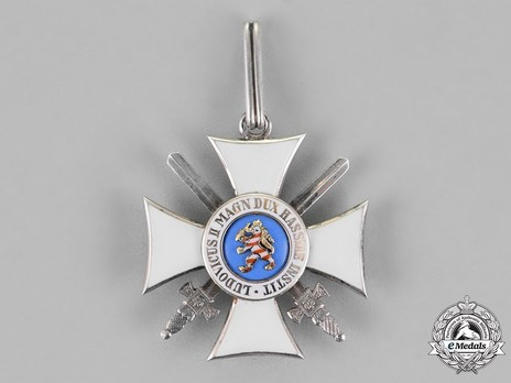I Class Knight's Cross with Swords Reverse