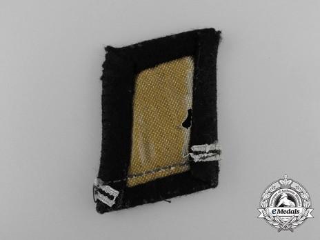 Waffen-SS Sturmmann Collar Tabs Reverse