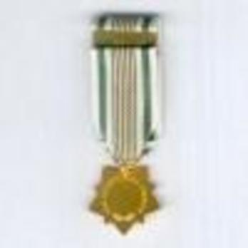 Miniature Gold Star Reverse