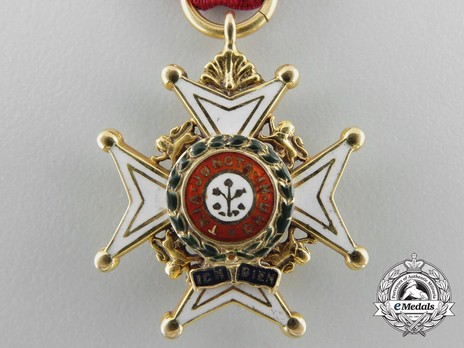 Miniature Companion (Military Division) (with gold) Reverse