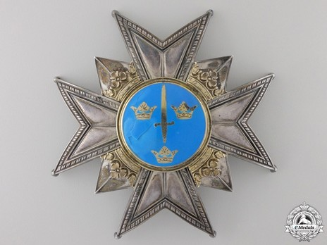 Commander Grand Cross Breast Star (with silver and silver gilt) Obverse