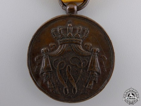 Bronze Medal (for 12 years, 1825-1851) Obverse