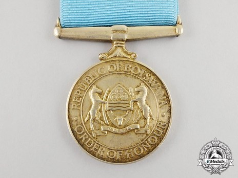 Presidential Order of Honour Reverse