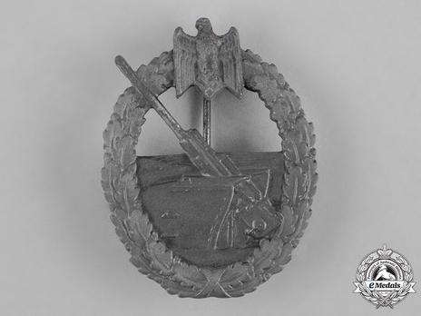 Coastal Artillery War Badge, by Steinhauer & Lück Obverse
