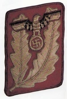 NSDAP Gauleiter Type IV Gau Level Collar Tabs Obverse
