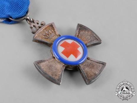 Merit Cross for Medical Volunteers, Silver Cross Obverse