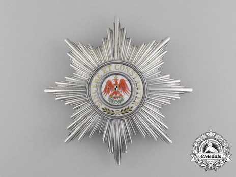 Order of the Red Eagle, Type VI, I Class Breast Star (1851-1861)