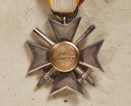 Order of Merit, Military Division, Silver Honour Cross (with swords, 1914-1918)