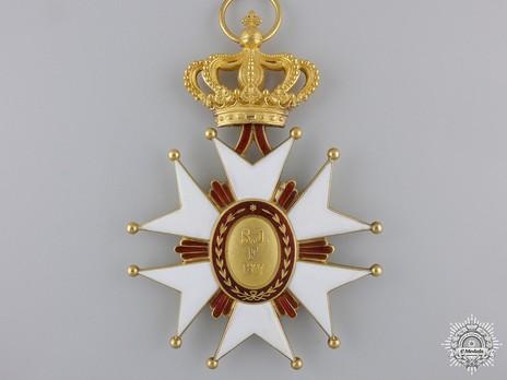 Order of Saint Joseph, Grand Cross  Reverse