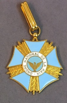 National Order of the Peace, Commander
