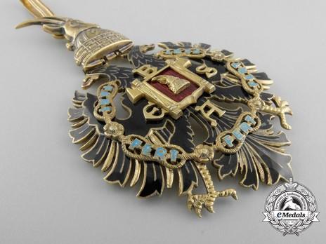 Order of Fidelity, Type II, Commander's Cross Obverse