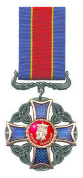 Order of Daniel Galician Decoration, Civil Division Obverse