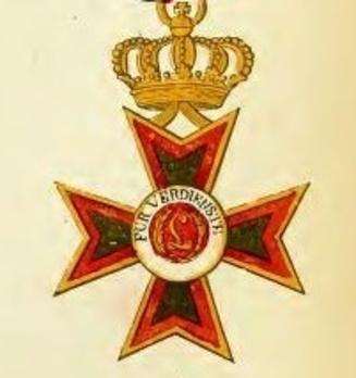 II Class Knight's Cross (1831-1912) Obverse