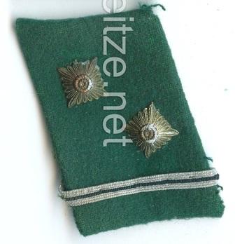 SA Obertruppführer Collar Tabs Obverse