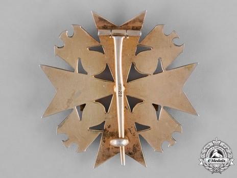 IV Class Cross with Swords Reverse